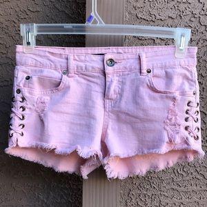 Billabong pink shorts
